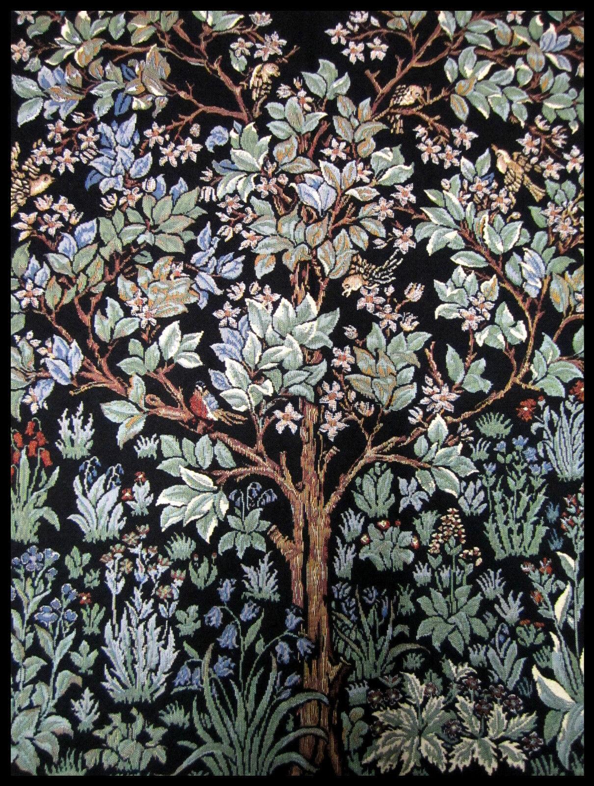 Wandteppich aus Italy Gobelin William Morris Lebensbaum Tree of Life 70x90 cm  eBay