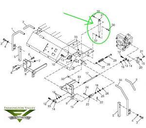 John Deere M653 M655 M665 Steering Dampener Torsional