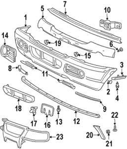 Fordlincolnmercury W704342S300 Genuine Step Pad Retainer