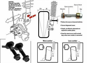 VW Camber kit Beetle Cabrio Golf Jetta Passat