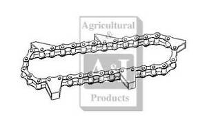 New Holland round baler floor chain 846 847