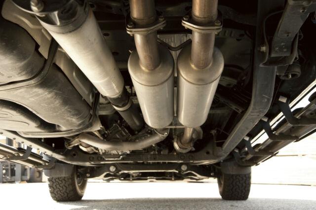 toyota trd dual exhaust tail pipe kit 2009 2017 tundra 5 7l oem