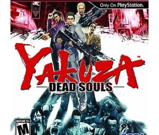 Yakuza Dead Souls Sony Playstation 3 2012