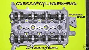 SATURN 19 SL2 SC2 DOHC CYLINDER HEAD 90 DEGREE EGR NON