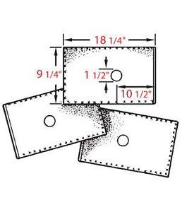 Envelope-Type Fryer Oil Filter Used on Bar-B-Q