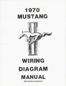 1970 FORD MUSTANG WIRING DIAGRAM