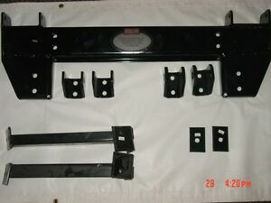 NEW 99 Chevy GM 1500 Unimount Western Plow mount uni hitch bracket cheverolet | eBay
