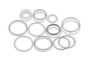 FP460 Ford Backhoe Swing Cylinder Seal Kit 455C 455D 555C