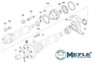 FOR BMW 330 330D 3 SERIES E46 PROPSHAFT COUPLING