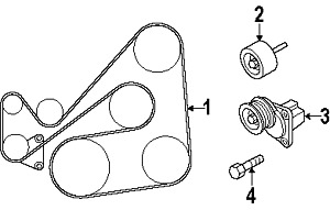 Car Engines With Pulleys Stock Drive Pulleys Wiring