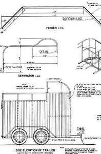 Modern Farm Plans Horse barns and trailers BBQ Smoker