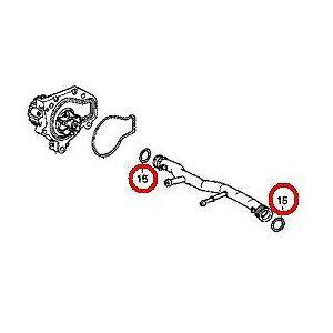 OEM Honda Water Pipe O-Ring 91314-PH7-003 Acura Honda