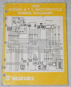 1990 SUZUKI Motorcycle and ATV Electrical Wiring Diagrams
