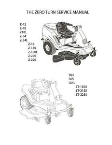CUB CADET SERVICE MANUAL RZT 50 - Auto Electrical Wiring ...