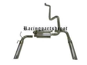 OBX Exhaust Fits For 98 99 00 01 02 Chevy Camaro Firebird