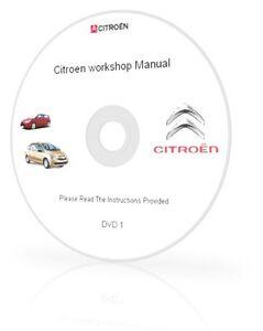 CITROEN C1 C2 C3 C4 C5 C6 C8 C15 WORKSHOP SERVICE MANUAL