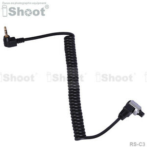 Remote Switch Shutter Release Cable Cord RS-C3 f Canon
