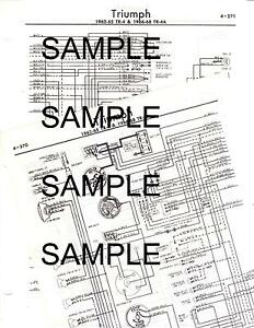 1965 1966 1967 TRIUMPH 2000 SEDAN 65 66 67 WIRING DIAGRAM