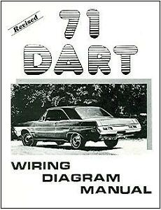 1971 71 DODGE DART WIRING DIAGRAM MANUAL | eBay