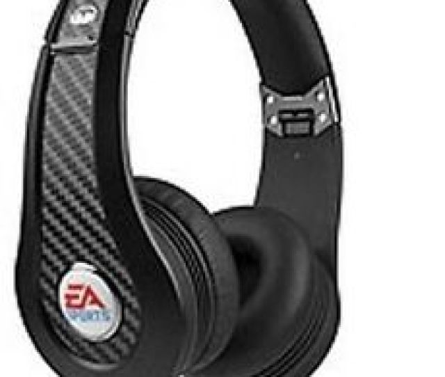 Monster Game Mvp Carbon By Ea Sports Headband Headphones Black