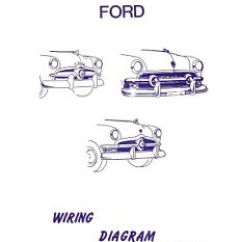 1952 Ford 8n Tractor Wiring Diagram Water Level Controller Circuit 1951 Toyskids Co 1949 1950 Car Manual Ebay 12v Conversion