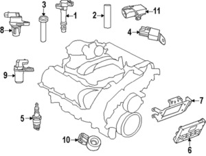 Chrysler 300 Spark Plug Diagram Chrysler 300 Heater Hose