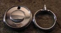 FURNITURE Hardware Drawer Ring Pull Satin nickel with ...