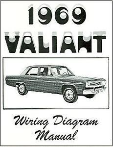 1969 69 PLYMOUTH VALIANT WIRING DIAGRAM MANUAL | eBay