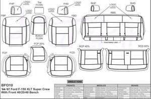 2004, 2005, 2006, 2007, 2008 Ford F150 Crew Cab XLT