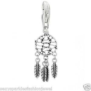 Dream Catcher Clip On Charms Bead For Charm Bracelets