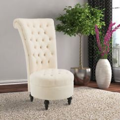 High Back Chairs Living Room Images Of Rooms With Area Rugs Homcom 45 Tufted Velvet Accent Chair Soft Image Is Loading 034