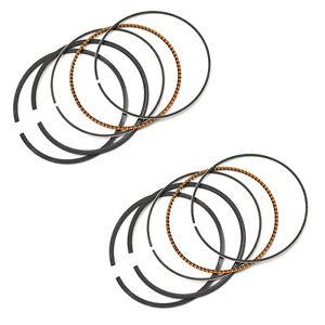 2 Sets Piston Rings for Kawasaki ZZR250 GPZ250 GPX250
