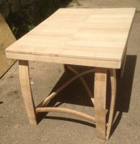 Recycled Solid Oak Whisky Barrel Staves Coffee Table