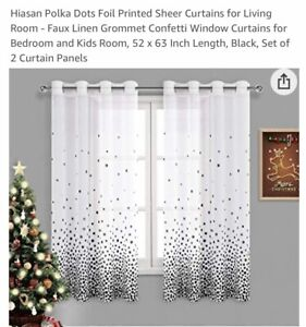 We may make from these links. Nip Hiasan Black White Curtains 52x84 In Long Great For Any Room Ebay