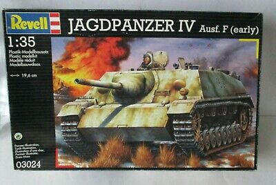 Revell 1/35 Hunting PANZER IV Large Design. F (early) | eBay
