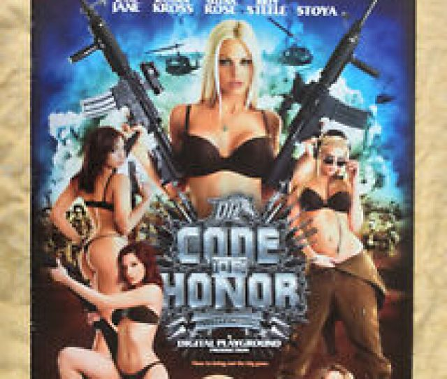 Image Is Loading Code Of Honor Rare Usa Jesse Jane Adult