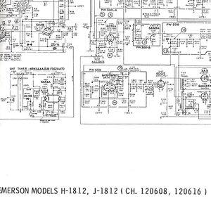 Service Schematic EMERSON H-1812 J 120608 SILVERTONE PC