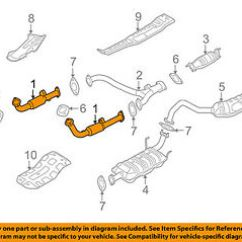2004 Kia Sorento Exhaust System Diagram 1991 Volvo 940 Stereo Wiring Great Installation Of Oem 07 09 3 8l V6 Front Pipe 286103e030 Rh Ebay Com 2003 2006 Sportage