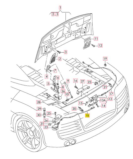 audi a6 c6 wiring diagram 2 ohm subwoofer under hood fuse box database c5 quattro spider