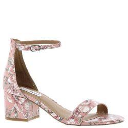 a9301c62ed1 Steve Madden Irenee Pink Multi Floral Block Heel Open Toe Ankle