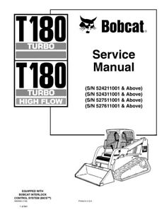 Bobcat T180 Turbo, Highflow Track Loader 2009 Edition