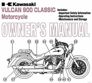 2010 KAWASAKI VULCAN 900 CLASSIC MOTORCYCLE OWNERS MANUAL