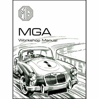 Mga 1500 1600 Official Repair Workshop Manual 1955-62