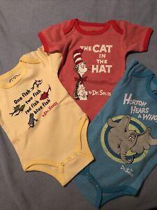 Cat In The Hat Infant Clothes : infant, clothes, Seuss, Infant, Piece, Months