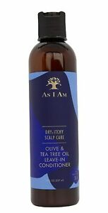 As I Am Dry & Itchy Scalp Care Olive & Tea Tree Oil Leave ...