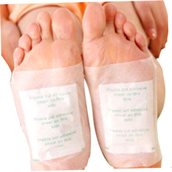 100 PCS Detox Foot Patch Pads Detoxify Toxins Fit Health Care Detox Pa DH