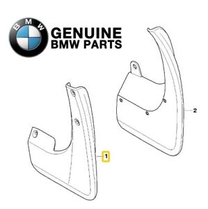 NEW For BMW E90 E91 323i 328i Front Mud Flaps Set Genuine