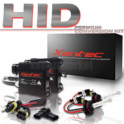 hid kit 9006 10000k deep blue low beam 10k headlight conversion kit hb4  xentec  ebay