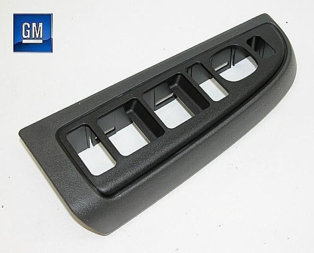 Window Switch Bezel Front Driver Side Lh Lf Pewter For Gm New Ebay