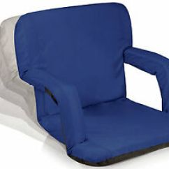 Foldable Cushion Chair Wegner Wing Portable Reclining Seat Picnic Stadium Folding Adjustable Image Is Loading